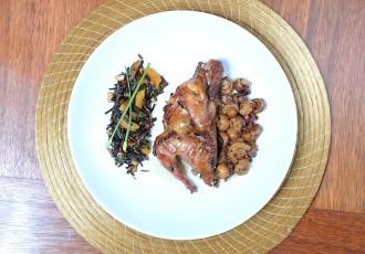 Perdiz recheada e arroz selvagem (Cleiby Trevisan)