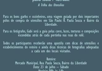 Filipeta Rolê Garfo & Foco (Gabi Butcher)