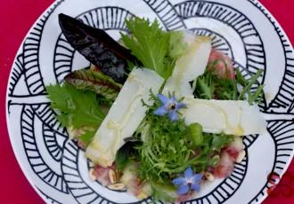 Carpaccio de figo (Letícia Massula para Cozinha da Matilde)