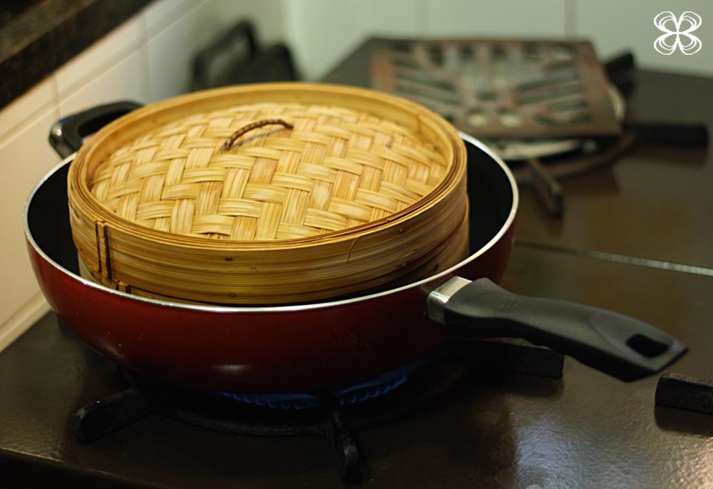 2f5c5bd0a Cozinha da Matilde | How to cook in bamboo steamer + steamed shrimp and  vegetables - Cozinha da Matilde